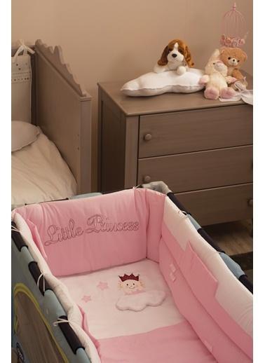 Little Princess Park Yatak Uyku Setı (Kenar Korumalı 6 Parça)-Aybibaby
